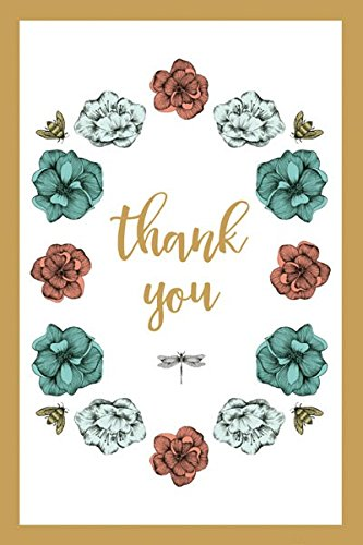 The Art File - Bloemen & Bijen Dank u Notecard Box (Pack van 10)