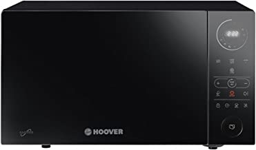 Hoover Chefvolution HMGI25TB - Microondas con grill, 25 litros, 900W - 1000W, Inverter, 32 programas, 6 niveles de potencia, Inicio diferido, Express cooking, Negro