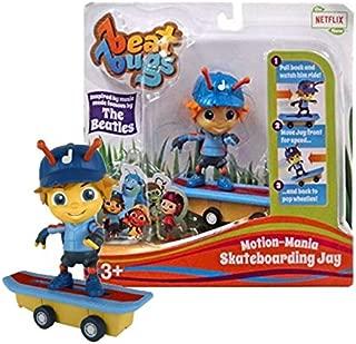 Beat Bugs Motion-Mania Skateboarding Jay