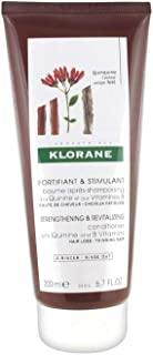 Klorane Conditioner with Quinine and B Vitamins for Thinning Hair, Support Thicker, Stronger, Healthier Hair, Men & Women