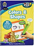 Teacher Created Resources Power Pen Learning Book, Colors & Shapes (6895)