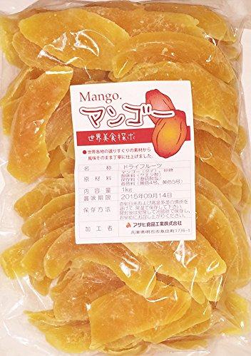 世界美食探究 タイ産 肉厚ドライマンゴー 1kg