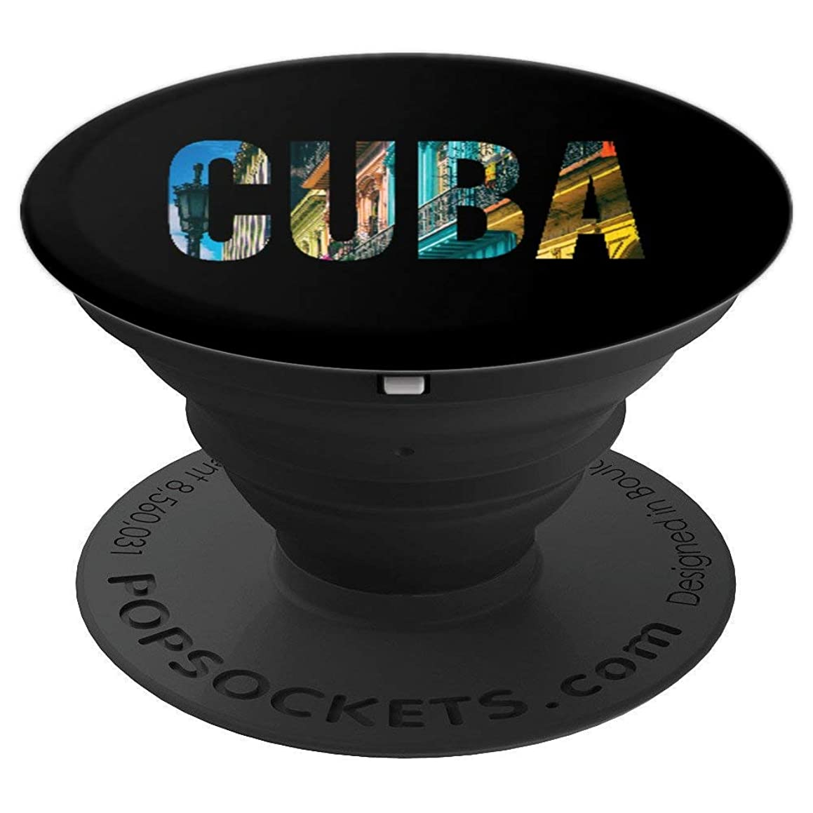Cuban Pride Cuba Urban Lettering - PopSockets Grip and Stand for Phones and Tablets
