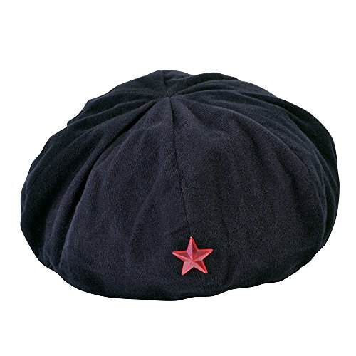 Bristol Novelty bh610 Revolutionist Hat, schwarz, one size