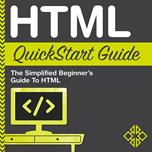 HTML QuickStart Guide audiobook cover art