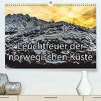 Leuchtfeuer der norwegischen Kueste (Premium, hochwertiger DIN A2 Wandkalender 2022, Kunstdruck in Hochglanz): Der Kalender beinhaltet die typischen und vielfach verbreiteten Leuchtfeuer und Leuchttuerme Norwegens (Monatskalender, 14 Seiten )