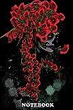 "Notebook: Sugar Skull Woman Dark Art Illustration , Journal for Writing, College Ruled Size 6"" x 9"",..."