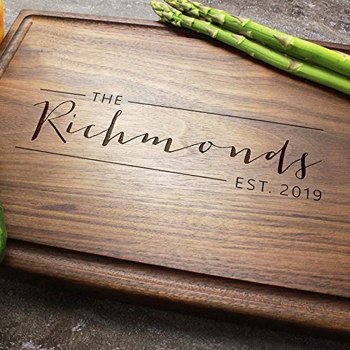Personalized Engraved Custom Cutting Price reduction Board Max 84% OFF In - Elegant Monogram