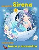 Busca y encuentra colección pequeño Sirena: libro de...