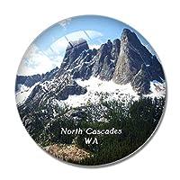 ノースカスケード国立公園ワシントン米国冷蔵庫マグネットホワイトボードマグネットオフィスキッチンデコレーション