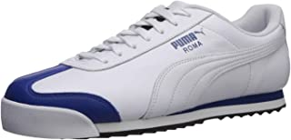 PUMA Womens Unisex-Adult Mens Roma Basic White Size: