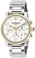 [モンブラン] 腕時計 TIME WALKER シルバー文字盤 自動巻き 107320 メンズ 並行輸入品 シルバー