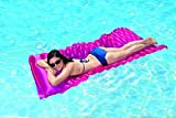 Poolmaster Roll 'N Go Swimming Pool Mattress Float, Pink