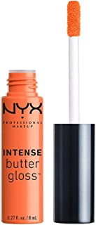 NYX PROFESSIONAL MAKEUP Intense Butter Gloss, Banana Split, 0.27 Ounce
