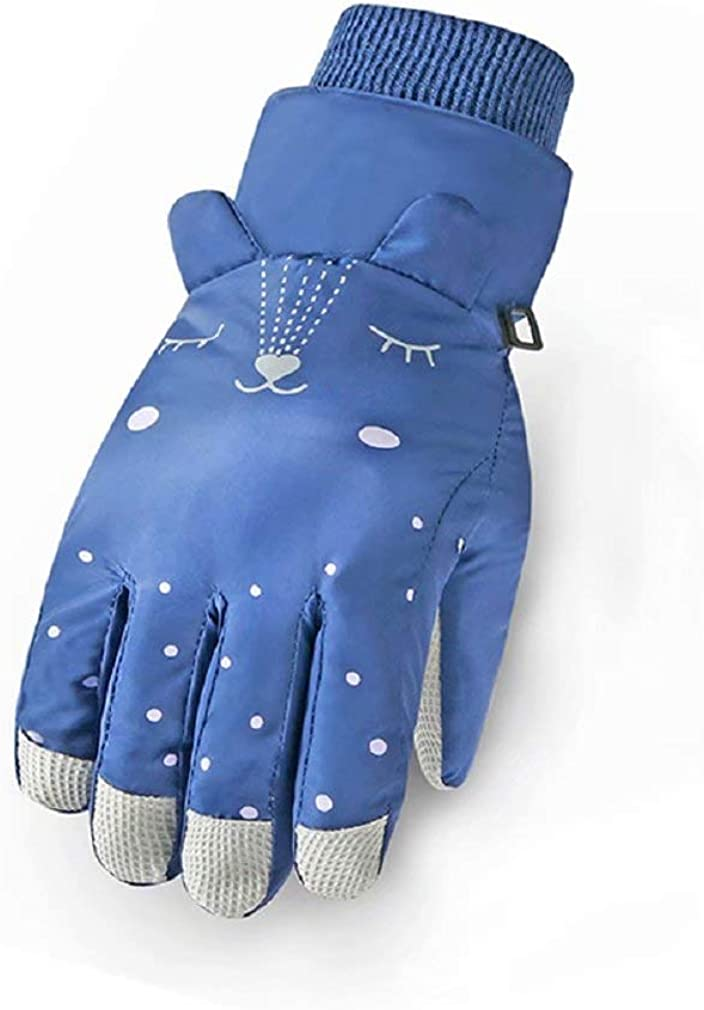 Kids Winter Gloves for 6-12 Years-old Girls and Boys Waterproof Gloves Windproof Kids Ski Gloves Girls Snow Gloves