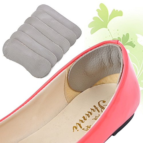 EgBert 1 Paar Lederschuhe Feet Foot Run Walk Care Inside Soft Protection Thickening Heel Arch Kissen