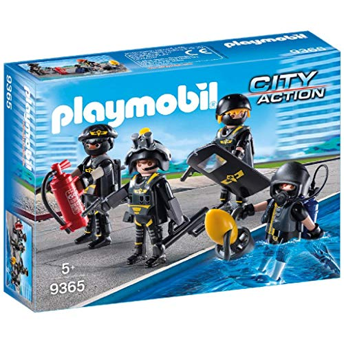 PLAYMOBIL City Action Equipo de Las Fuerzas Especiales