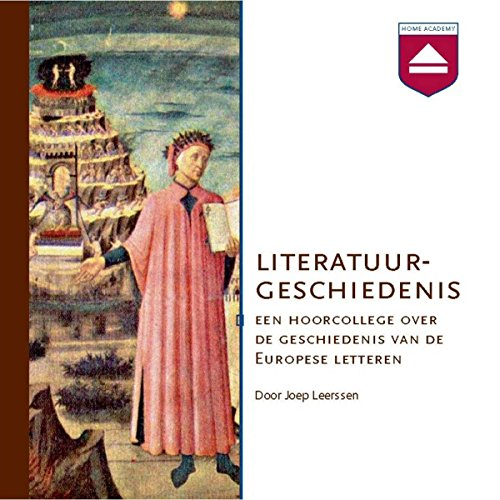 Literatuurgeschiedenis audiobook cover art