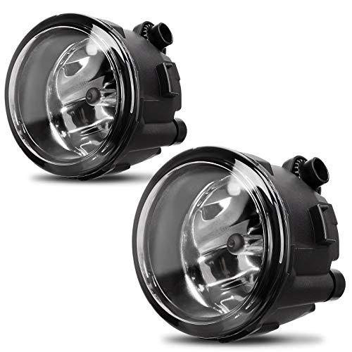 AUTOSAVER88 Fog Lights Compatible with Nissan Cube Juke Quest Murano Rogue Versa Infiniti FX EX QX M G Q (OE Style Glass Lens w/ H11 12V 55W Bulbs)