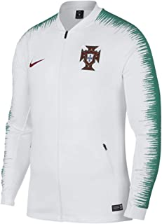 Portugal Anthem Dry Squad Tracktop Jacket 893593-102 WC 2018 White
