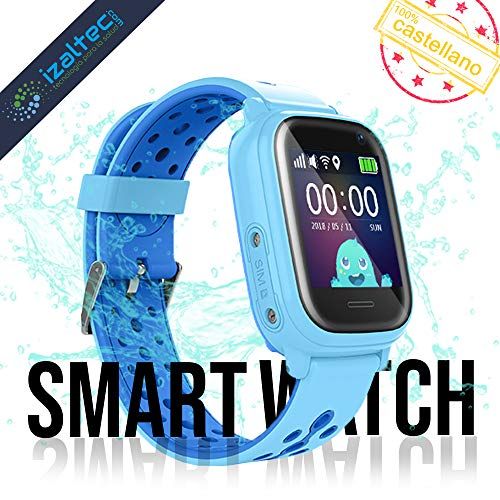 Smartwatch para niños GPS, wifi, LBS, llamadas, camara – IP67