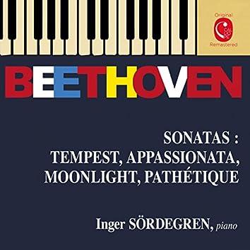 Beethoven: Piano Sonatas Nos. 8, 14, 17 & 23