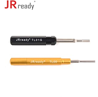 JRready ST5139 Removal Tool Kit:TL01G+TL00 Removal Tool Kit for HARTING, Wain,TE 40A round contacts,Han E、Han EE series,HAC、HEC、HM、HK、HQ series connector