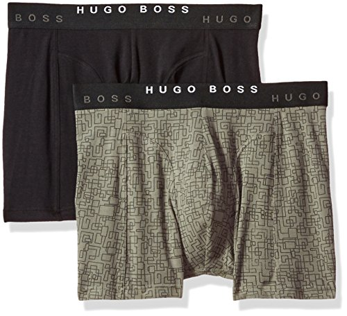 Hugo Boss Men's Boxer Brief 2p Print, Multi, Large