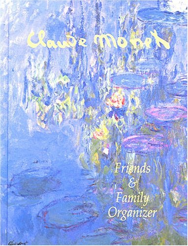 Friends and Family Organizer: Monet Design