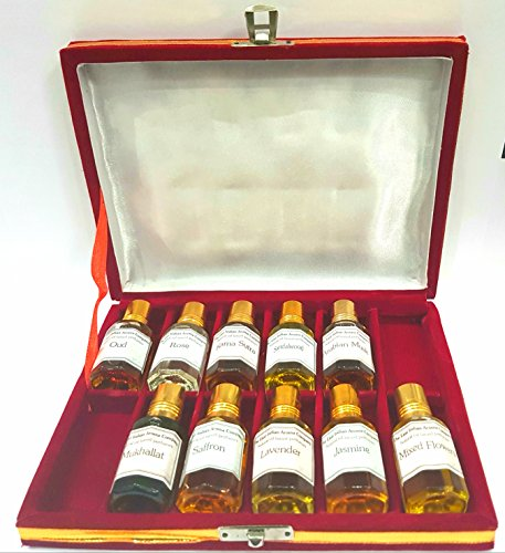 Huiles essentielles de parfum naturelles dont safran/lavande/fleurs mélangées/Kama Sutra/Mukhallt/rose/oud/jasmin/bois de santal/musc arabe