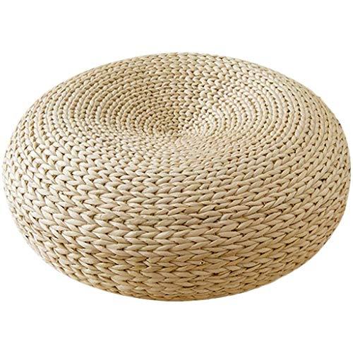 Ventana tatami Bay Cojín, Horno de paja del asiento del cojín del amortiguador hecho a mano...