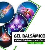GEL 200ML Efecto Frio Antiinflamatorio / Crema Antiinflamatoria para dolores Musculares. Mejor pomada para Masajes y Recuperador post Entrenamiento, alivio de Tendinitis Contracturas