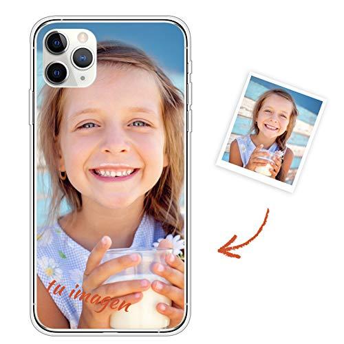 Oihxse Carcasa Silicona para Samsung Galaxy S7 Edge Funda Personalizada Foto Imagen Texto Transparente Ultrafina TPU Bumper Case Personalizable Cubierta Cover para Niña Niño Hombre Mujer