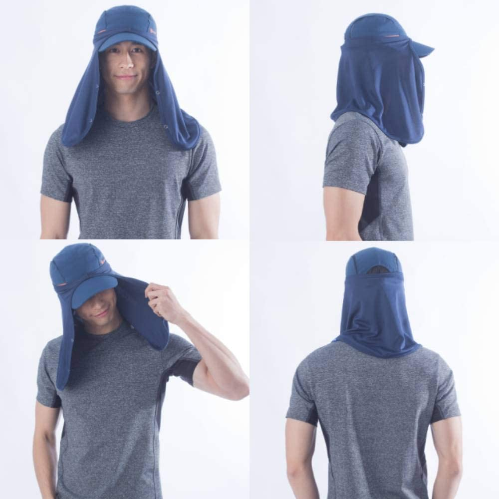 UV100 - Sun Protective Hat Drape Neck Coverage UPF50+ - Unisex