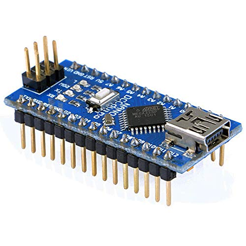 OSOYOO ATMEGA328P Module CH340G Mini Microcontroller Shield for Arduino Nano Board with Solder pins