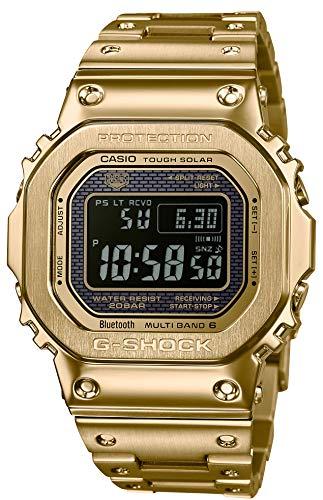 [カシオ] 腕時計 ジーショック Bluetooth 搭載 電波ソーラー GMW-B5000GD-9JF メンズ ゴールド