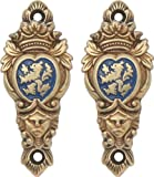 Denix Lion Shield Hangers for Rifles Pistols and Swords