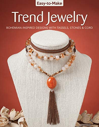 Easy to Make Trend Jewelry Bohemian Inspired Designs with Tassels Stones Cord Design Originals product image