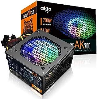 آيجو المحارب AK700 بحد أقصى 700 وات مصدر طاقة مروحة RGB صامتة 220 فولت ATX PC كمبيوتر ساتا ألعاب الكمبيوتر الشخصي للكمبيوت...
