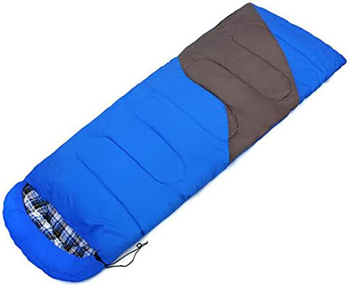 Equipement De Camping en Plein Air Sac De Couchage en Coton Fournitures De Camping pour Adultes Enveloppes D'Orthographe Sacs De Couchage,B