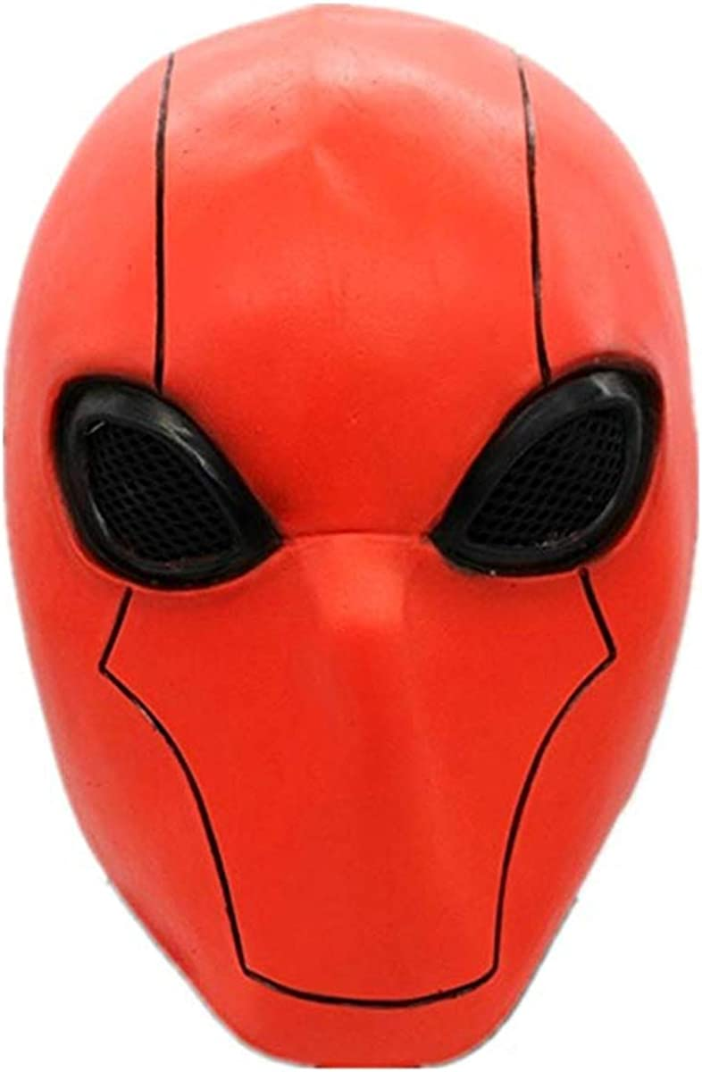 Deluxe Quantity limited Red Hood Mask Injustice League Helmet C Classic 2 Adult Full Head