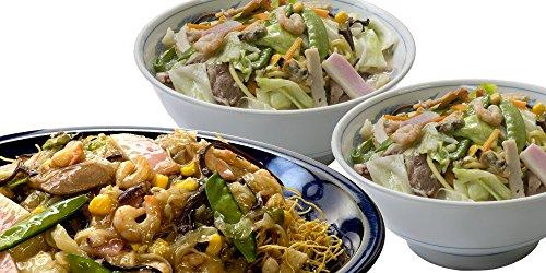 【ご贈答向け】 長崎 冷凍 Wちゃんぽん 2個と 冷凍 皿うどん 2個の セット