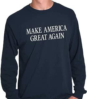 Brisco Brands Make America Great Again Election Trump USA Long Sleeve T Shirt