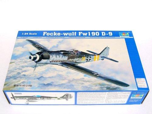 Trumpeter 02411 Modellbausatz Focke-Wulf Fw 190 D-9