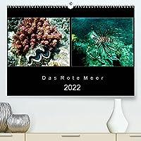 Das Rote Meer - 2022 (Premium, hochwertiger DIN A2 Wandkalender 2022, Kunstdruck in Hochglanz): Bunte Artenvielfalt und Unterwasserlandschaften an den Riffen im Roten Meer. (Monatskalender, 14 Seiten )