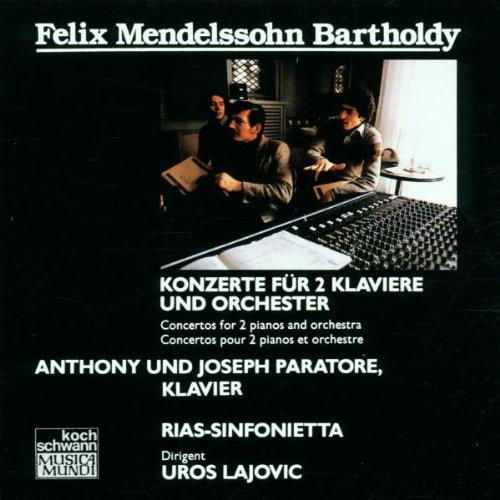 Konzert für 2 Klaviere und Orchester
