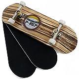 Peoples Republic P-REP Starter Complete Wooden Fingerboard 30mm x 100mm - Zebra