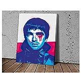 YXFAN Noel Gallagher Ölgemälde Poster und Drucke Home
