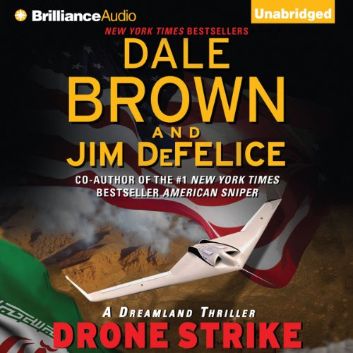 Drone Strike audiobook cover art