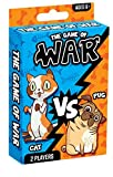 Fun a Ton War Card Game for Kids - The Game of War Kids Game Toy - Colorful Design - Great for Children Ages 4 & Up. Cards Size 4.7' x 3.4'. Great Party Favor 3602-War-1
